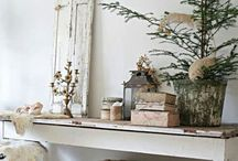 Christmas holiday looks / Beautiful Christmas holiday interior style and craft ideas