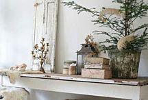 Christmas - shabby chic style / by Liana Shelton