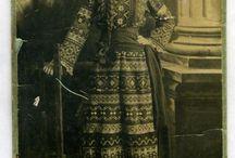 Городской костюм в русском стиле