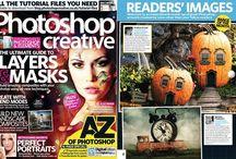 PUBLICAÇÕES PHOTOSHOP CREATIVE UK / Trabalhos publicados na Photoshop Creative UK