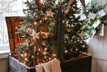 Christmas Trees / Primitive Christmas Tree Ideas