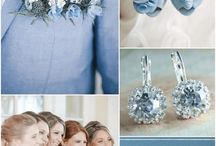 blue wedding theme - holy mat
