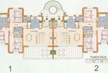 Plattegronden - Villas