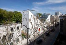 MANEKI NEKO / Housing in Paris 20 flats 54 rue Pierre Rebière XVII Paris