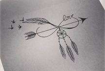 Tetování peříčka