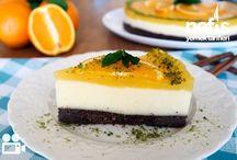portakallı irmik tatlıları