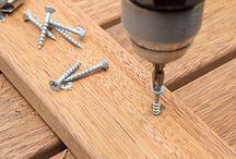 Timber shower mats