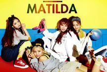 Matilda kpop
