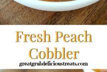 Peach cobbler or crisp