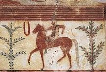Etruscan frescoes