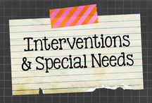 Interventions and Special Needs / Teaching ideas and resources that support students with special needs.