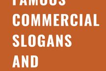 List of Famous Commercial Slogans and Taglines