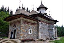 Mănăstiri din România / Credință, cultură, arhitectură, istorie, frumusețe....