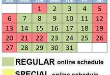 PayManila.com Online Schedule Calendar / by PayManila Pilipinas