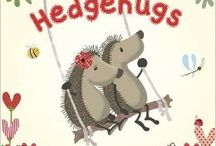 Hedgehugs / Hedgehugs is the adorable creation of husband and wife team Lucy Tapper and Steve Wilson. Already proving to be popular with children all over, Horace and Hattie are set to become massive hits! The beautiful hedgehog illustrations are drawn by Lucy Tapper. Her illustrations are mixed media made from the fabric of her children's baby clothes.
