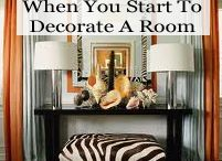 Home Decor / by Shani G.