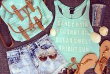*summer outfits*