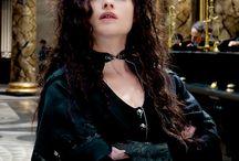 Bellatrix Lestrange / Clothes, hair, accessories,wand, make up!!!