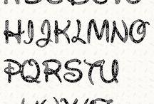 Alphapet letters
