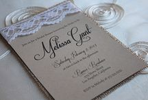 Invitations & Stationary / by Mary Dinh