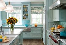 Kitchen / Kitchen ideas with colors