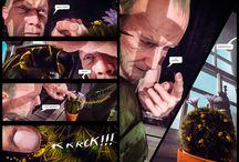 "THE WAVING MAN - GRAPHIC NOVEL - TEASER COMIC / ""THE WAVING MAN"" - AN EPIC CGI GRAPHIC NOVEL  The first installment of a new blockbuster comic book series.   COMING TO KICKSTARTER OCTOBER 2016   #amokcomics #thewavingman"