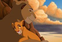 Simba and Sarabi