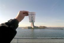 Forced Perspective / Taking photo's, forcing 3D objects to become a 2D image. Flattening the view to create a surreal image