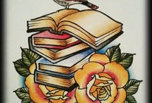 Book Tattoo Reference Images