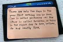 Quotes / by Samantha Burrows-McDermott