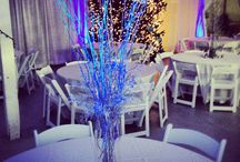 Christmas Company Party Decoration / Event design and decoration ideas for corporate or company party celebrations.