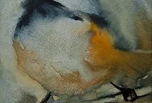 Bird Art / Oil paintings and watercolor paintings of all kinds of birds. Fowl feathered friends.