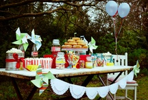 Carnival Candy Table / Styling: Blank Canvas Event Design