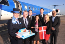 Birmingham to Billund inaugural flight - 3 June 2013