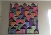 Quilt and cats / Quilts and cats