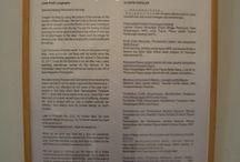Farsijana on the Posters of Articles / There are 11 posters of articles that were exhibited on Blog and Art Visualization of Indonesiaku Indonesiamu Indonesia untuk semua at Bentara Budaya Yogyakarta in May 21-29, 2013