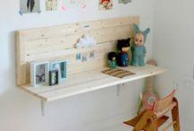 Kid Desk/Table/Work Station Ideas / by Jessica Jones Dinkelacker