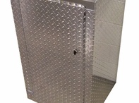 Aluminum Cabinets / Add a durable aluminum cabinet to your trailer, garage or office space.