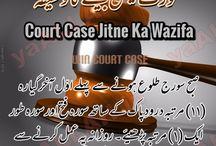 Muqadma Mein Kamyabi ki Dua-Win Court Case