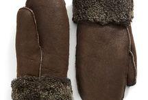 Homemade mittens