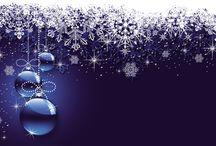 Rámy a pozadia - Vianoce, zima