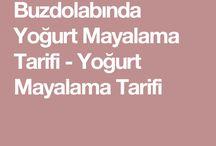 buzdolabında yoğurt mayalama