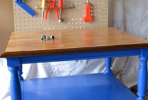 Kids - Play Work Benches