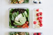 Meal Prep / Organising and prepping your week of meals is a lifesaver for staying on top of your health goals.  meal prep, for the week, clean eating, recipes, meal ideas, meal planning, meal prep containers, salad, meal prep lunch, bowls, smoothies, portions