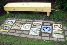 Hopscotch mosaics