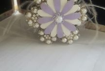 brooch bouquets / made by me
