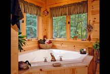 Bathrooms | Strongwood Log & Timber Homes