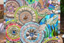 Mosaics and stained glass / by Sandra Riddle