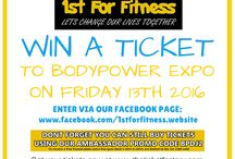 Competitons and Giveaways / Bodypower expo tickets for the event at NEC Birmingham 13th may 2016. i am giving a lucky person a free standard ticket.
