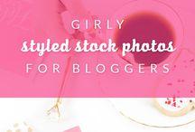 Girly Stock Photos / Stock photos for female lifestyle bloggers